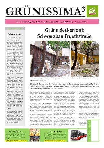 Grünissima 2/2013 - Die Grünen Landstrasse