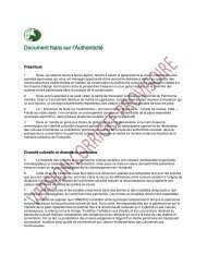 Document de Nara sur l'Authenticité - Ministère de la Culture et de la ...