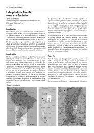 La larga lucha de Santa Fé contra el río San Javier - Icomos