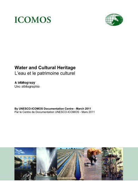 Bibliography On Water And Cultural Heritage Icomos