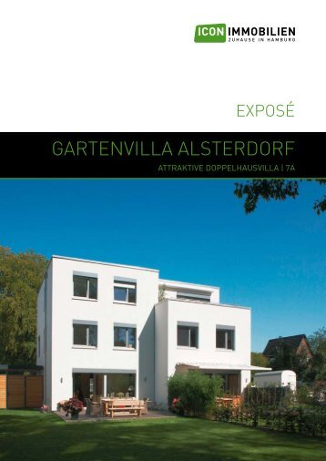 Gartenvilla alsterdorf - Icon Immobilien