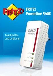 FRITZ!Powerline 540E Set - AVM