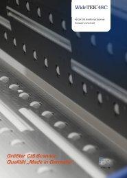 48 Zoll CIS Großformat Scanner. Kompakt und schnell.