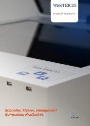 WideTEK 25- Kompakter A2+ Flachbettscanner - Image Access GmbH