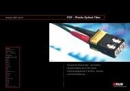 www.rdm.com POF – Plastic Optical Fiber - R&M