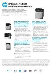 Datenblatt HP LaserJet Pro 500 MFP M521dn deutsch - ARP