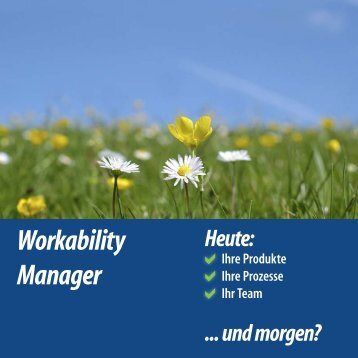 Workability Manager 2013 - Innovation Campus