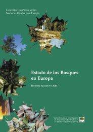 Estado de los Bosques en Europa - ICP Forests