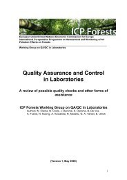Review of possible quality checks and other forms - Skog og landskap