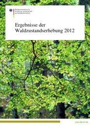 Ergebnisse der Waldzustandserhebung 2012 - ICP Forests