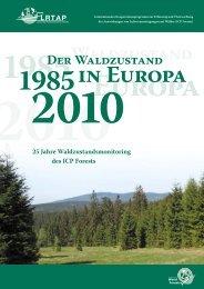 Waldzustand - ICP Forests