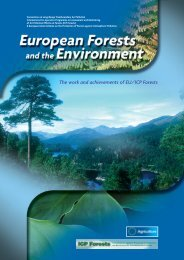 The work and achievements of EU/ICP Forests