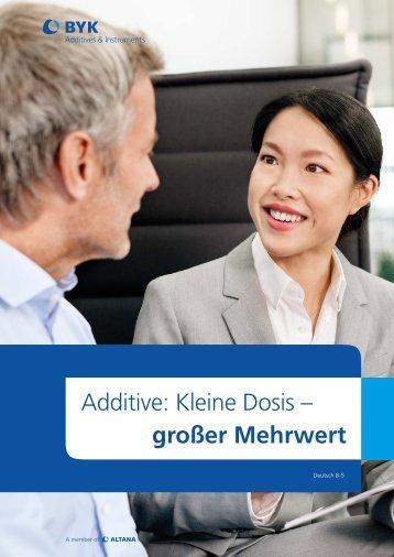 Additive - BYK Additives & Instruments