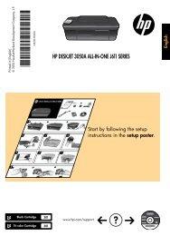 HP DESKJET 3050A ALL-IN-ONE J611 SERIES - Hewlett Packard