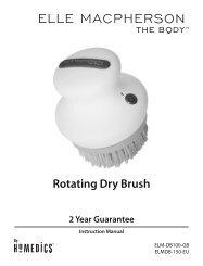 Rotating Dry Brush - Boulanger