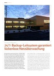 24/7:Backup-Leitsystem garantiert lückenlose ... - COPA-DATA