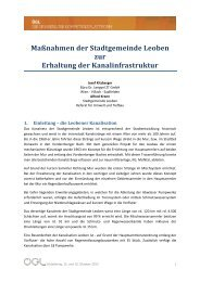 DI Josef KITZBERGER, Büro Dr. Lengyel ZT GmbH - OGL