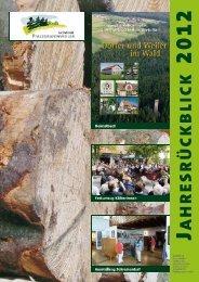 Jahresrückblick 2012 - Gemeinde Pfalzgrafenweiler