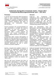 April – Juni 2013 - Comune di Bolzano