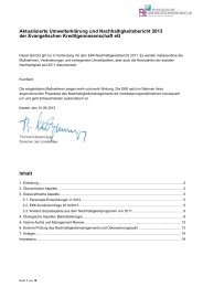 Aktualisierte Umwelterklärung und Nachhaltigkeitsbericht ... - EMAS