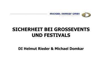 Folie Rieder & Domkar - Die Fachgruppe Wien der Freizeitbetriebe