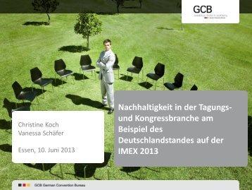 Präsentation Mitgliederversammlung Nachhaltigkeit ( 1,83 MB ) - GCB