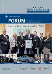 Deutscher Vizemeister 2010 - Brinkmannbleimann