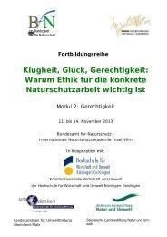 Programm barrierearm - Bundesamt für Naturschutz