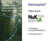 AULA‐Projekt 2030. Das grüne Band entlang der Weißen Elster