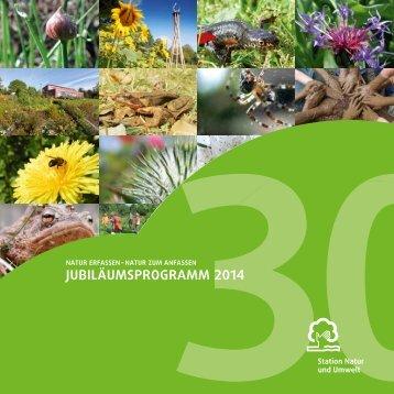 Jubiläumsprogramm 2014 - Station Natur und Umwelt