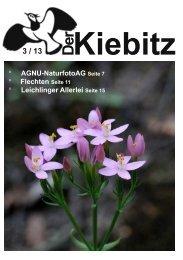 die neueste Ausgabe downloaden - AG Natur und Umwelt Haan e.V.