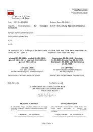 ODG 01 - GENNAIO - Comune di Bolzano