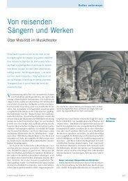 Von reisenden Sängern und Werken - Forschung Frankfurt - Goethe ...