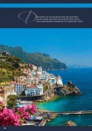 DDie Küste von Amalfi gilt als eine der schönsten Landschaften der ...