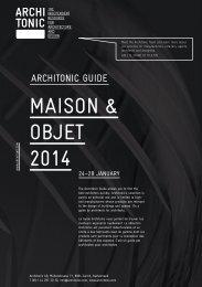 MaISON & ObJet 2014 - Architonic