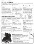 Nature program winter schedule [PDF] - Wisconsin DNR - Page 3