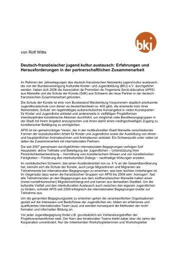 PDF / 4 Seiten / 45,6 KB - Bundesvereinigung Kulturelle Kinder- und ...