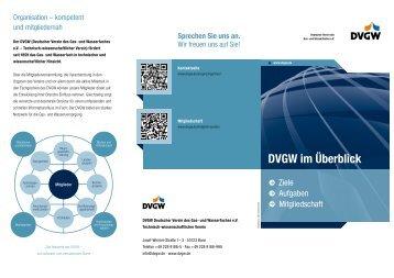 PDF, 364 KB - DVGW - Deutscher Verein des Gas