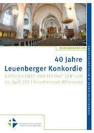 Leuenberg - Evangelische Kirche in Mitteldeutschland