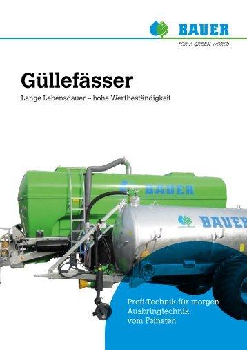 Güllefässer - Bauer