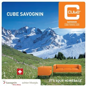CUBE SAVOGNIN - Cube Hotels