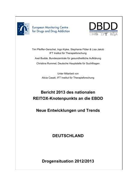 form 8992 final  Bericht 13 des nationalen REITOX-Knotenpunkts an die EBDD ...
