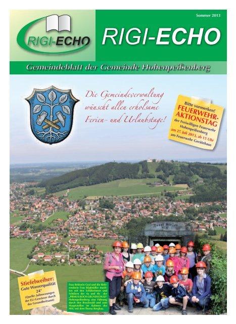Download - Rigi-Echo Sommer 2013 - Hohenpeißenberg