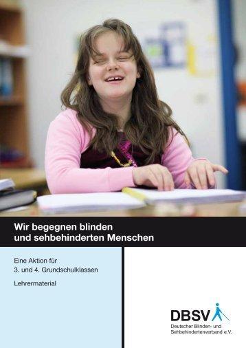 Lehrerheft als Ansichts-PDF (nicht barrierefrei) - Deutscher Blinden