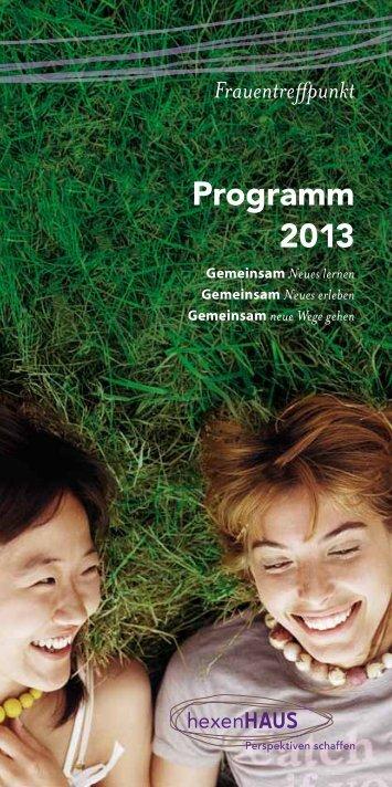Programm 2013 als PDF - Hexenhaus Espelkamp