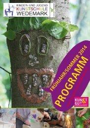 aktuelles Programm F/S 2014 - und Jugendkunstschule Wedemark