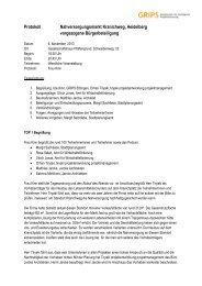 Protokoll der Veranstaltung vom 6. November 2013 - Heidelberg