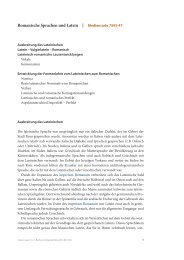 Romanische Sprachen und Latein | Mediencode ... - C.C. Buchner