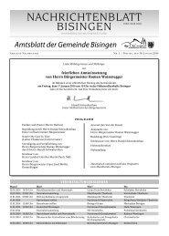 02 Umbruch_Leerumbr.qxd - Gemeinde Bisingen