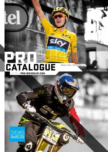 PRO Bike Catalogue 2014